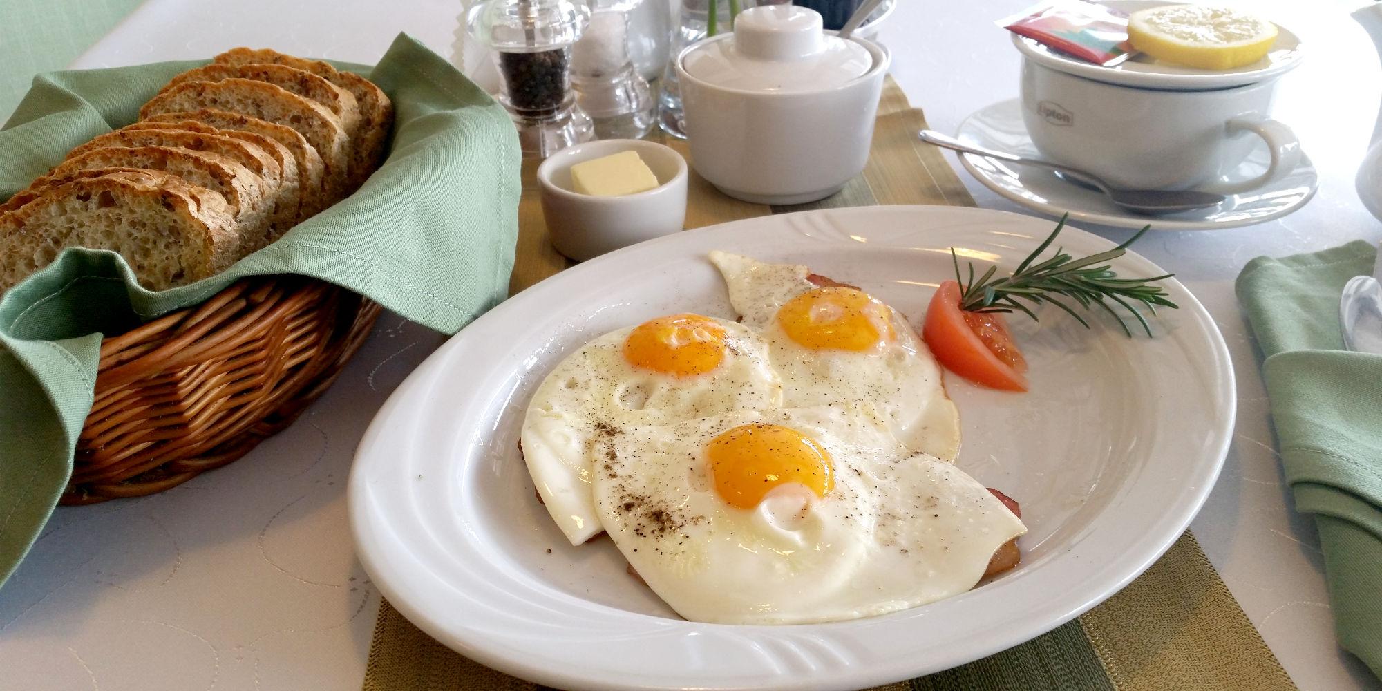 Menu śniadania
